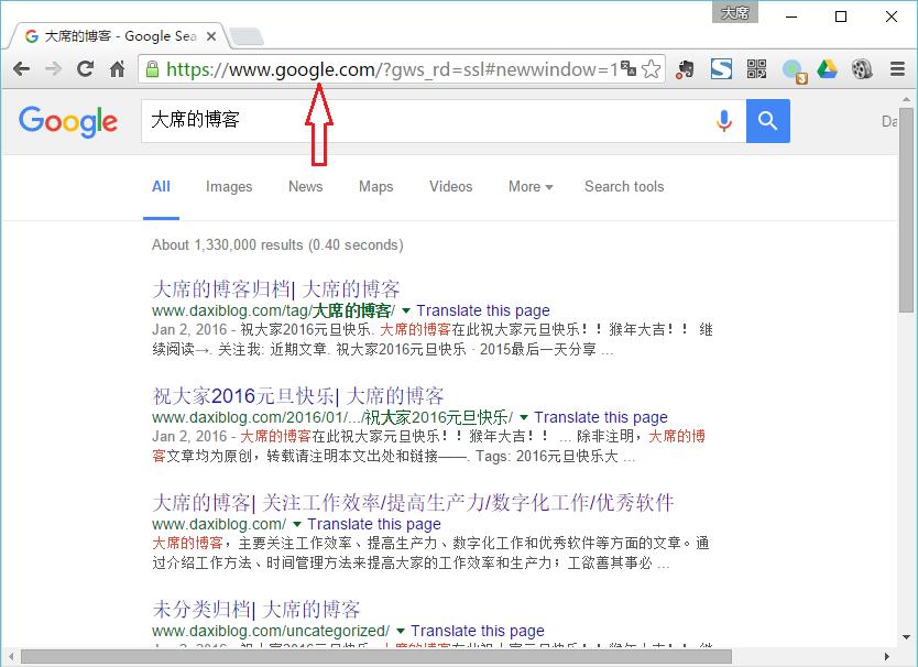 国内强制打开google.com的方法