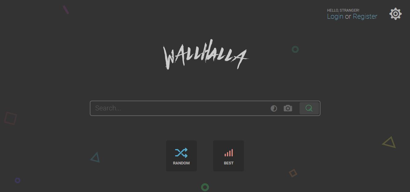 推荐一个设计感十足的壁纸网站:Wallhalla